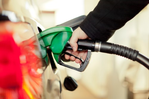 A photo of car refilling gas